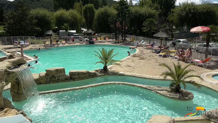 Camping Mondial  toiles  VallonPontDArc  Toocamp