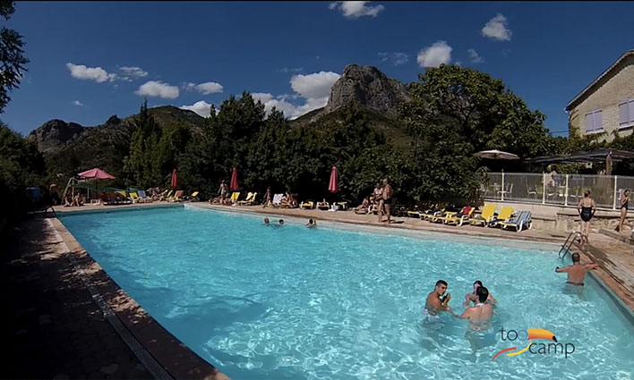Camping - des Princes d'Orange - Orpierre - Provence-Alpes-Côte d'Azur - France