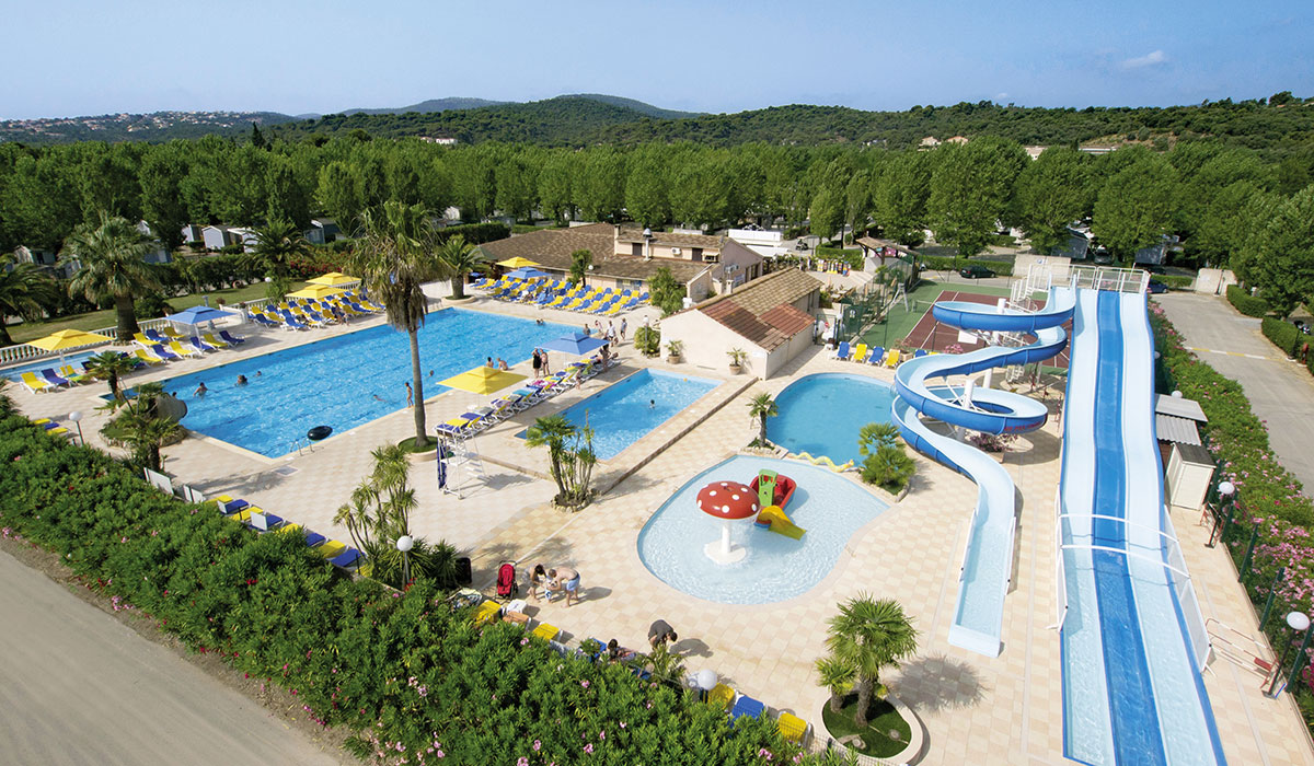 Camping - Riviera d'Azur - Saint-Aygulf - Provence-Alpes-Côte d'Azur - France