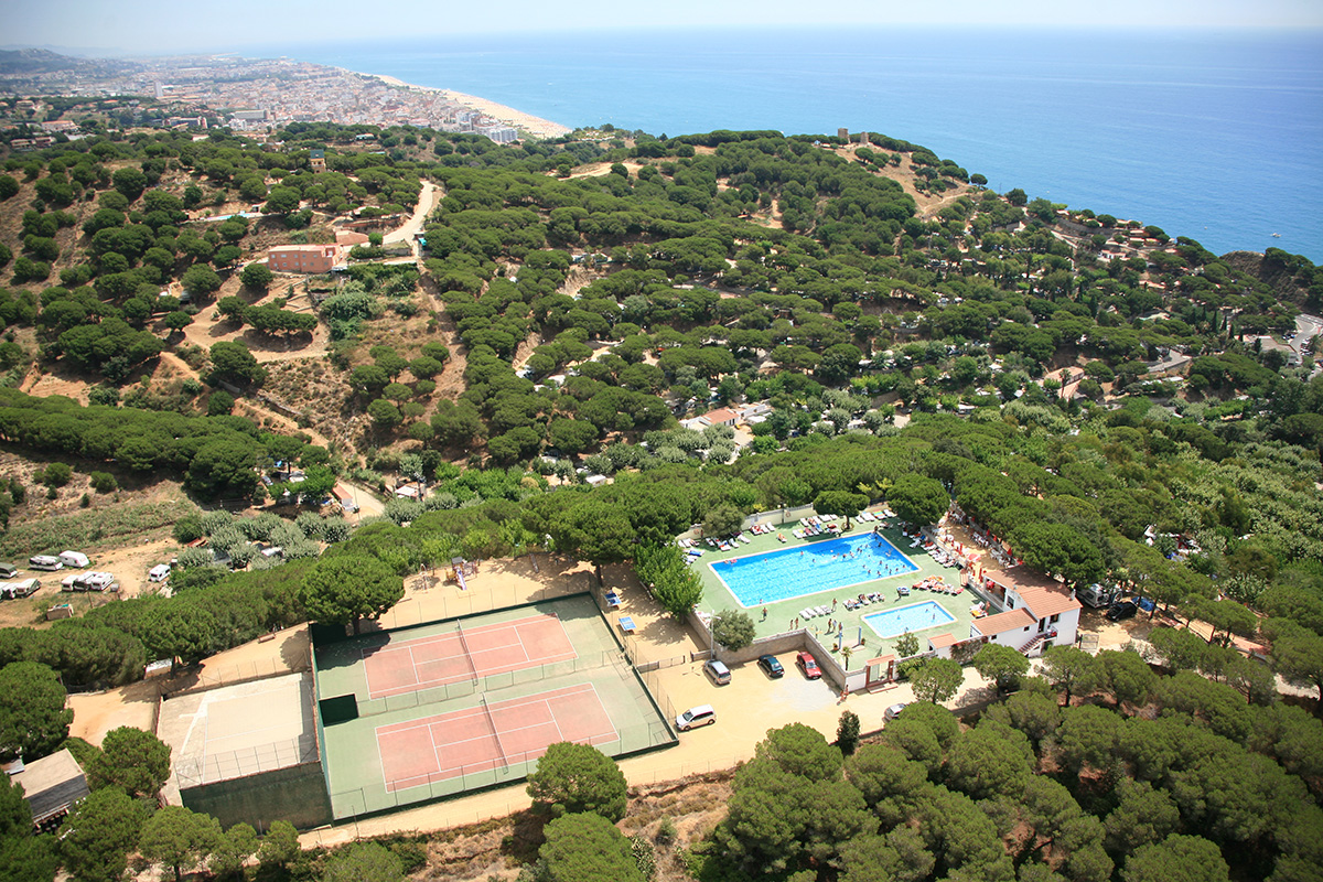 Camping - Calella - Costa Brava - Roca Grossa