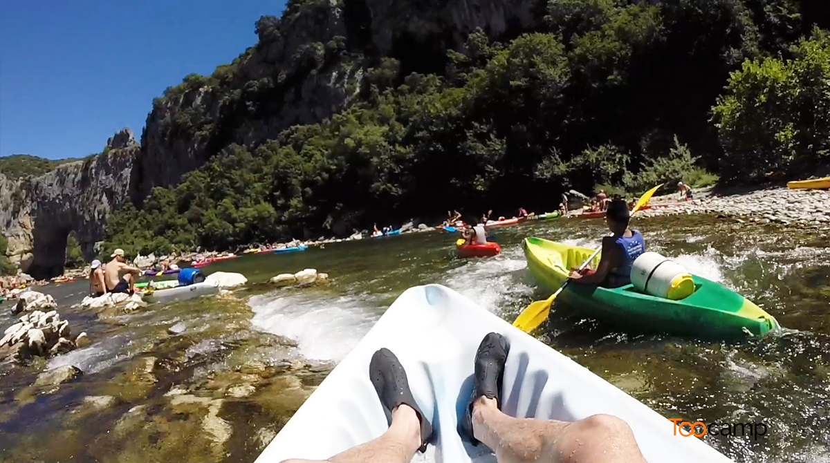 Descente de l'Ardèche en Canoë-Kayak