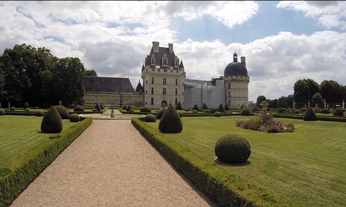 Le Château de Valençay et son labyrinthe