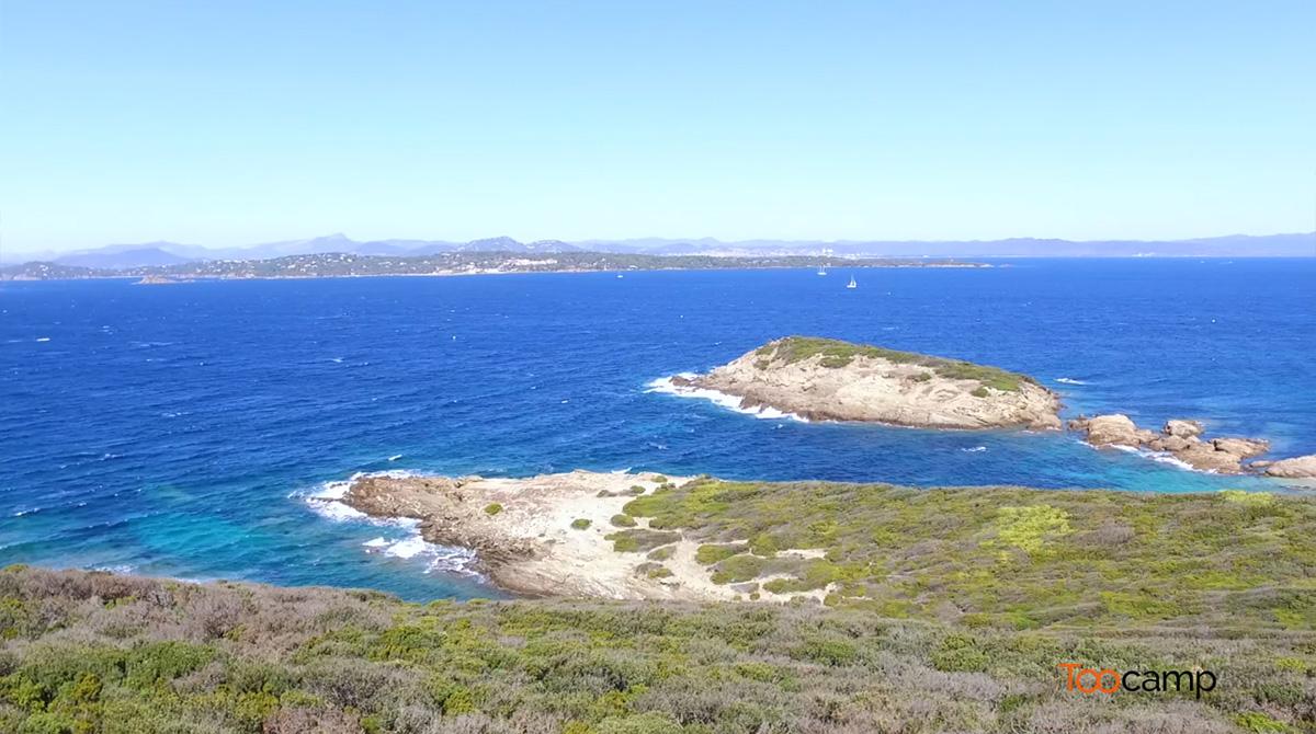 L'île de Porquerolles en vidéo