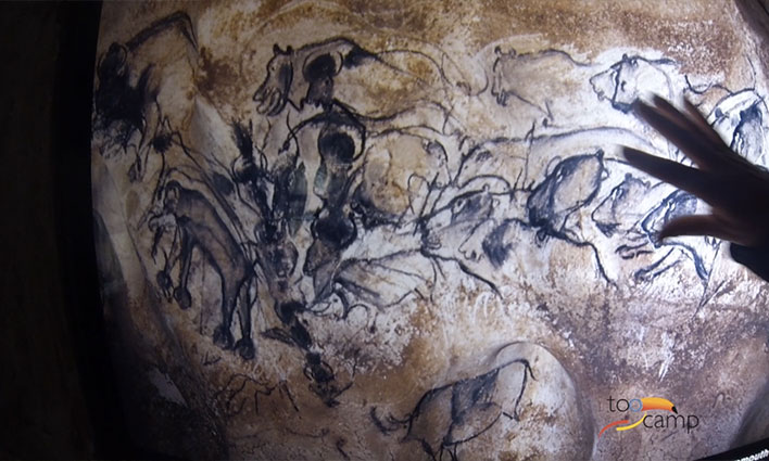 Les Grottes de l'Ardèche en Vidéo