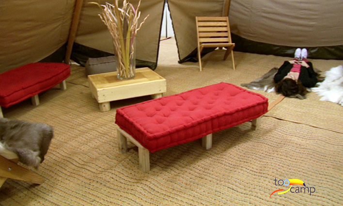 Logements camping insolites sur le plancher des vaches