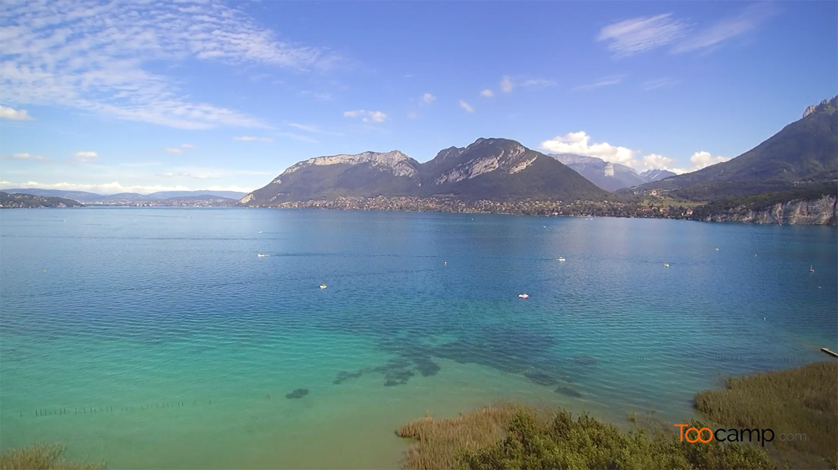 Que faire au Lac d'Annecy ?