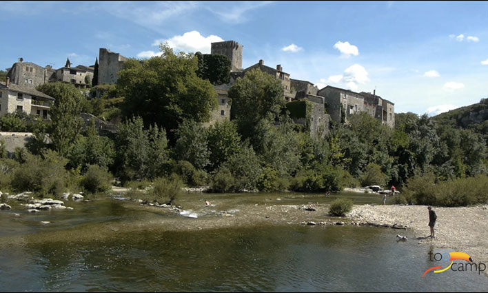 La Cèze et ses plus beaux villages de France en vidéo