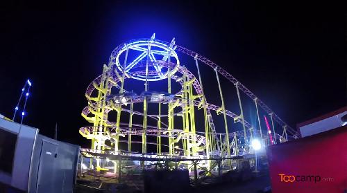 Un Lunapark en bord de mer au Grau du Roi