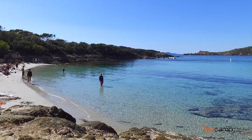 Les plages de l'île de Port-Cros en vidéo