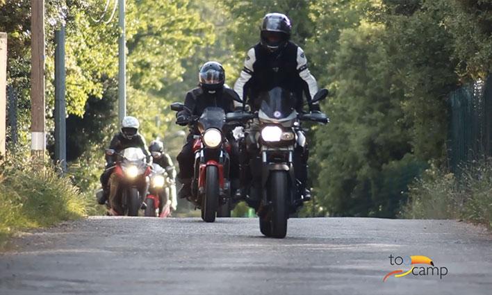 Les motardes de la Sainte-Baume