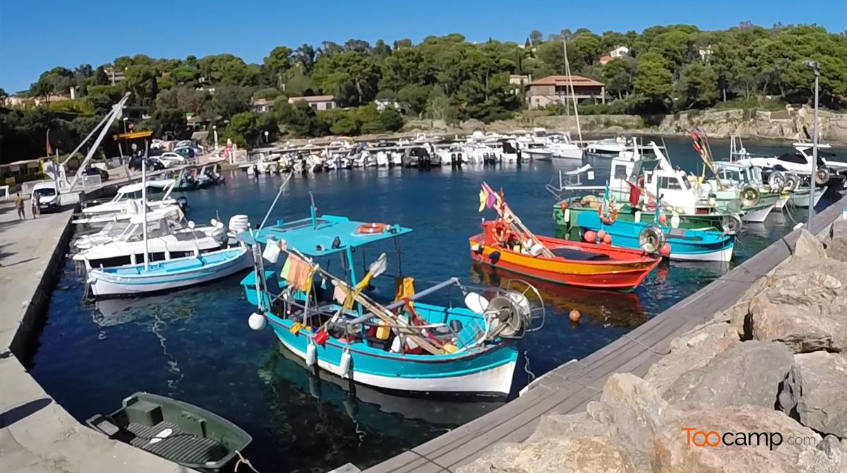 Les ports de la Presqu'île de Giens