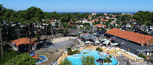 Camping - Biscarrosse - Aquitaine - Plage Sud