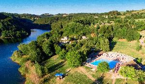 Camping - Saint-Amans-des-Cots - Midi-Pyreneën - Les Tours