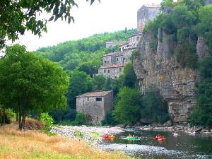 Camping - Balazuc - Rhône-Alpes - La Falaise