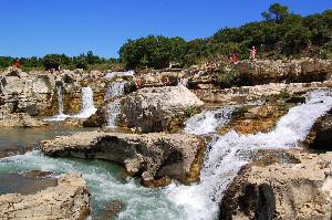 Camping - La Roque-sur-Cèze - Languedoc-Roussillon - Les Cascades
