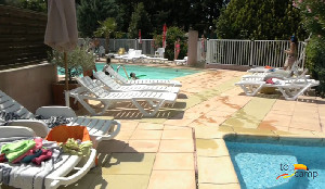 Camping - Junas - Languedoc-Roussillon - l'Olivier