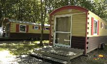 Camping - Le Lion - Bourg-Saint-Andéol - Rhône-Alpes - France