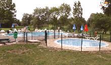 Camping - Les 3 Ours - Montbarrey - Franche-Comté - France
